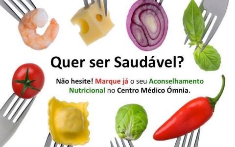 Consultas de Nutrição no Centro Médico Ómnia